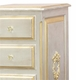 french changer silver w/ gold gilding & tray & moulding