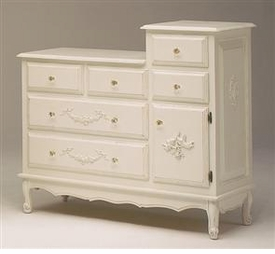 french changing table
