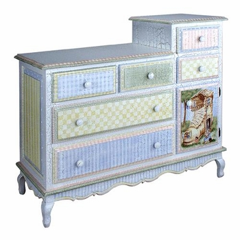 french changing table (nursery rhyme)