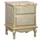french night table (silver with gold gilding)