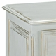 french night table - versailles finish & moulding