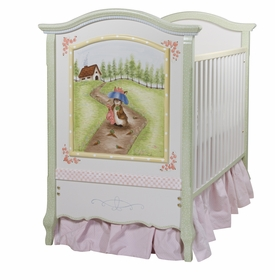 French Panel Crib