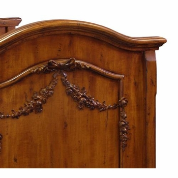 french panel crib (chateau)