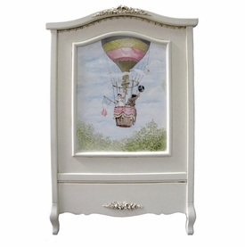 french panel crib (hot air balloon)