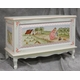french toy chest (enchanted forest crackle)