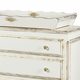 french wide chest with changing tray - versailles creme
