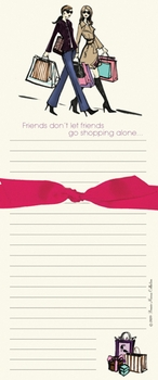 Friends Shopping (FDBB) note pad  - SOLD OUT
