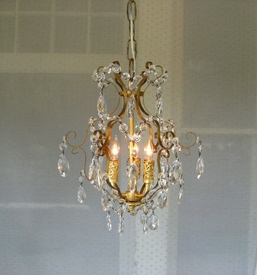 gabriella 3 light mini chandelier