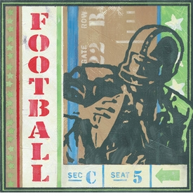game ticket - going for a pass wall art