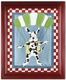 geronimo wall art - green frame - SOLD OUT