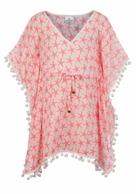 girls batwing starfish kaftan