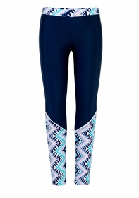 girls boho swim leggings