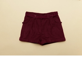 girls boysenberry dress shorts