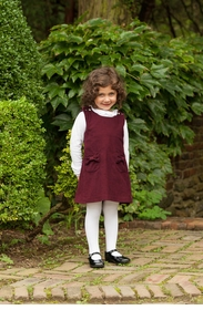 girls boysenberry jumper