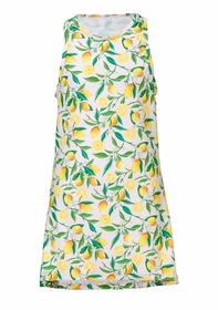 girls lemon swim dress