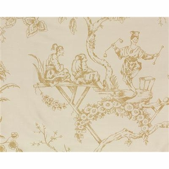giselle/chinoiserie toile fabric