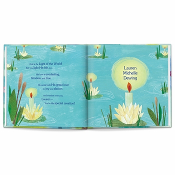 god loves you personalized storybook