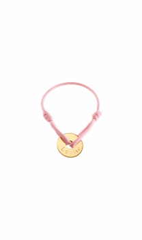 gold plated baby charm bracelet