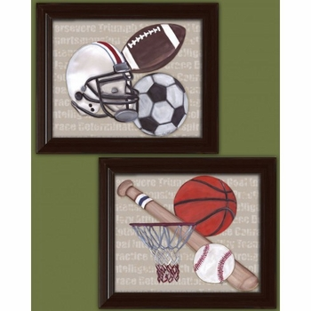 good sports wall art