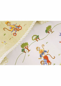 gordonsbury monkey business bath towel