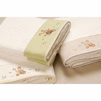 gordonsbury monkey business towel set
