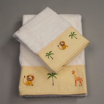 gordonsbury on safari facecloth set