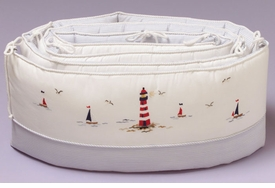 gordonsbury sailing away crib bumper