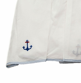 gordonsbury sailing away crib skirt