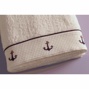gordonsbury sailing away hand towel