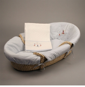 gordonsbury sailing away moses basket - temporarily unavailable