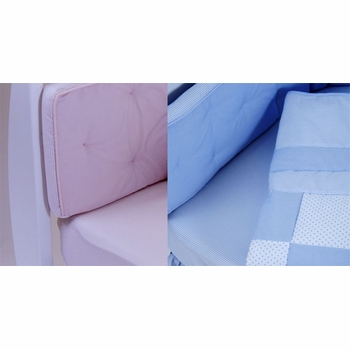 gordonsbury unembroidered fitted crib sheet