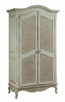 grand armoire with caning (versailles)
