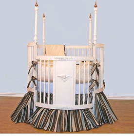 grant round crib bedding