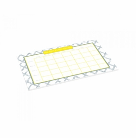 gray bamboo schedule pad