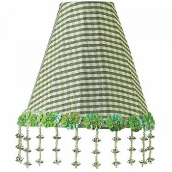 green check pearl flower night light