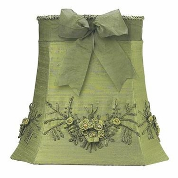green floral bouquet large shade