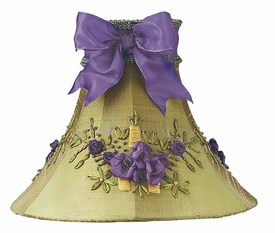 green lavender floral bouquet medium shade