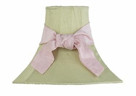 green medium shade-pink sash