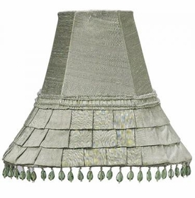 green medium skirt dangle shade