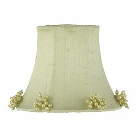 green pearl burst chandelier shade