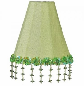 green pearl flower night light