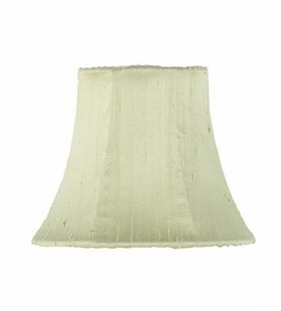 green plain chandelier shade