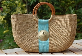 half moon basket bags