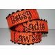 halloween dot personalized headband