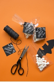 halloween gift tags foil - T169