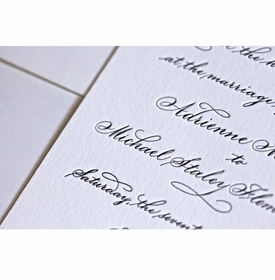 hand calligraphy suite card