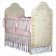 hand painted crib with vines 43080