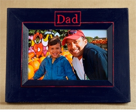 hand painted dad frame