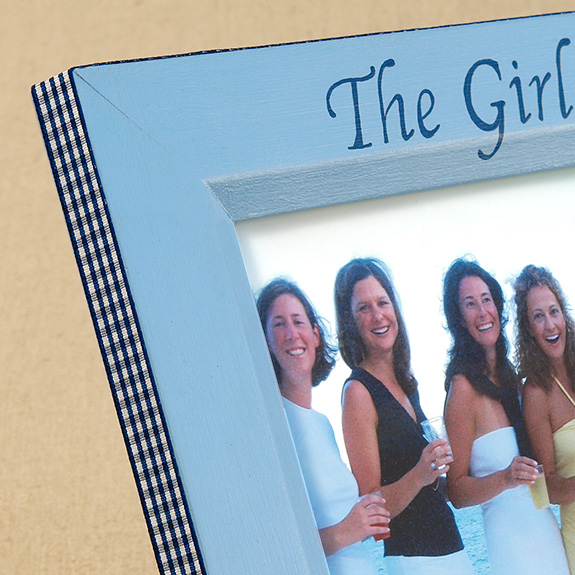 Hand Painted Picture Frame The Girls
