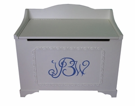hand painted toy boxes